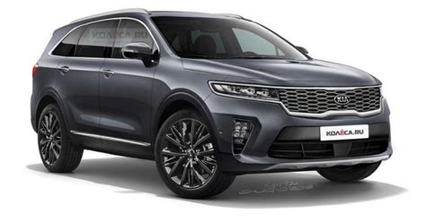 2020 kia sorento 2020 kia sorento render korean car
