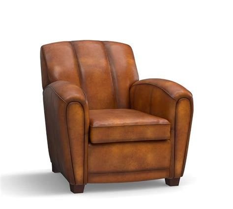 pottery barn leather armchair elliot leather armchair pottery barn
