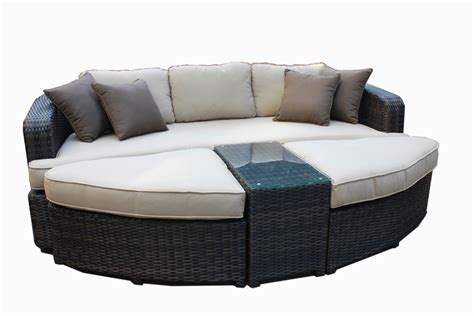 patio furniture daybed kontiki conversation sets wicker daybeds monte carlo 4