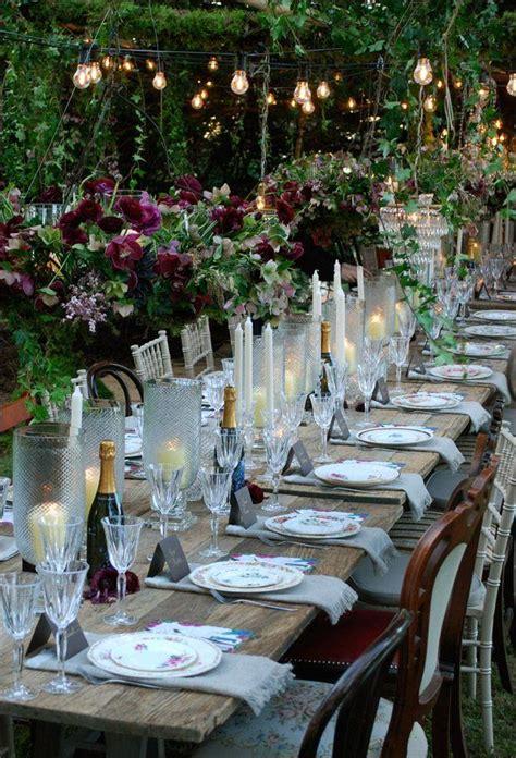 wedding tablescapes with candles 2 garden wedding garden tablescapes 2171850 weddbook