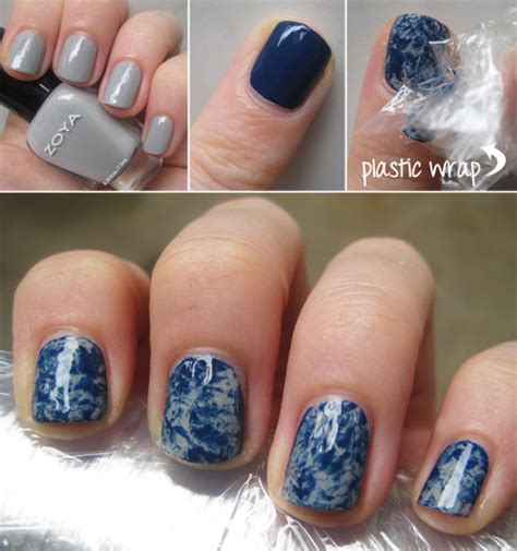 tutorial nail art marble easy diy marble nail art design interior design inspiration