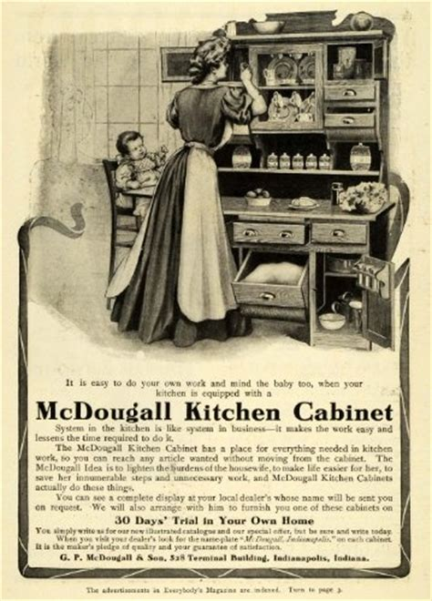 kitchen cabinet advertisement 10 best images about mcdougall indiana and hoosier