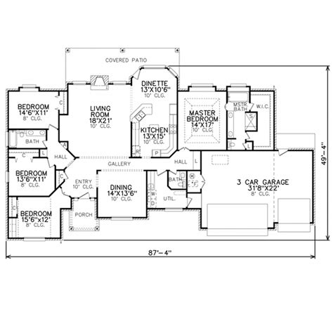 perry home plans floor plan 7456