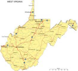 west cities map west virginia map and west virginia satellite images