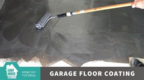 Garage Floor Coating and Repair w/ Rust Oleum ROCKSOLID