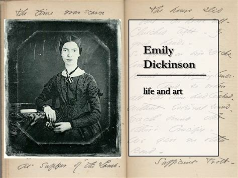 emily dickinson biography slideshare emily dickinson presentation