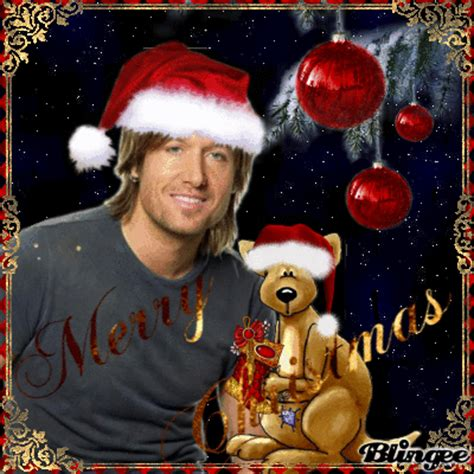 merry christmas  keith urban picture  blingeecom