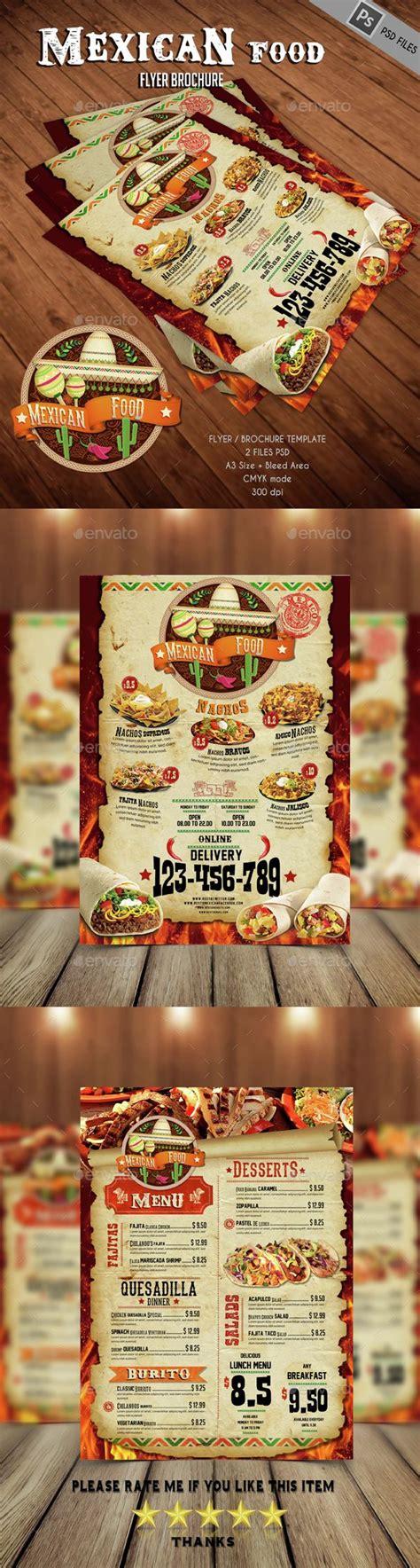 mexican menu template 17 best images about menu on restaurant menu