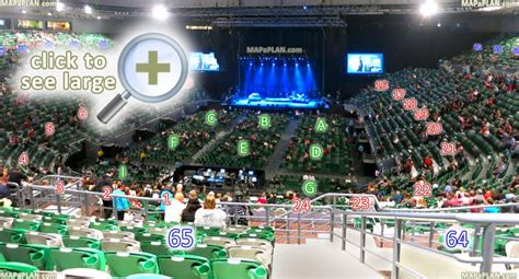 What Is Section 23 by Melbourne Rod Laver Arena Seat Numbers Detailed Seating