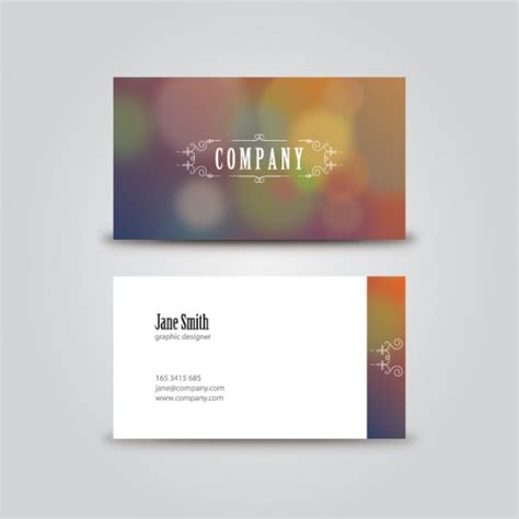 card template freepik vintage business card template vector free