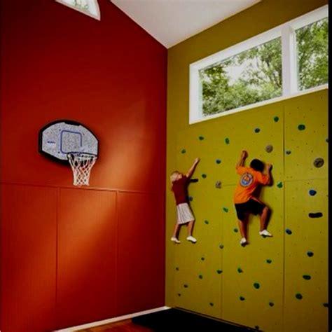 basement climbing wall soo cool basement home decor i