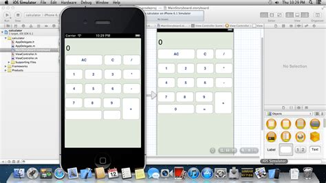 xcode tutorial calculator ios uibutton title set in storyboard is missing when run