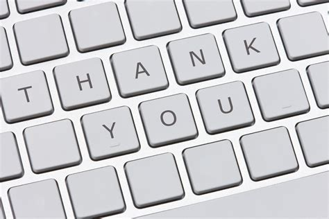 Thank You Letter To Computer Thank You Email After Exles Do S And Dont S