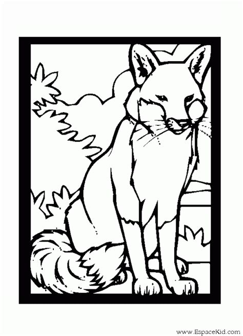 stone fox coloring pages coloring pages