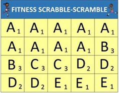 is pe a scrabble word pe activities on physical education pe
