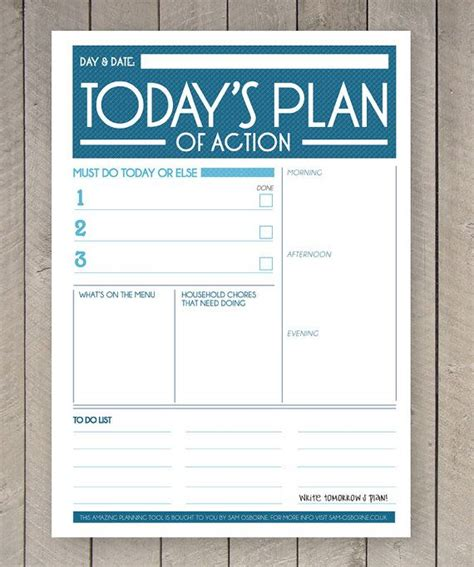 etsy printable to do list printable planner daily to do list family organiser