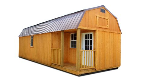 Side Lofted Barn Cabin by Cumberland Buildings Storage Cabins Portable Sheds