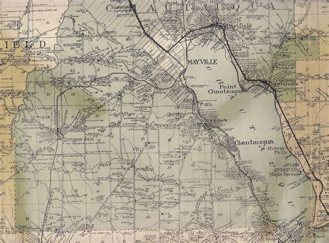 Chautauqua County Records 1916 Wall Map Of Chautauqua County Ny