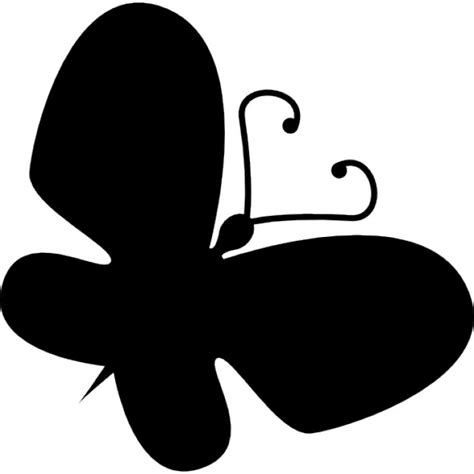 imagenes de mariposas en negro siluetas insectos fotos y vectores gratis