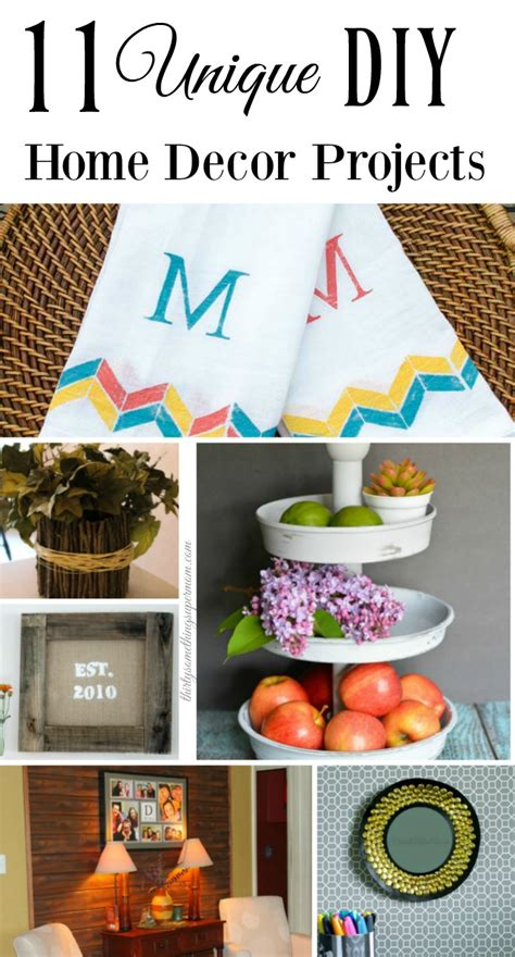 unique diy home decor 11 unique diy home decor projects thirtysomethingsupermom