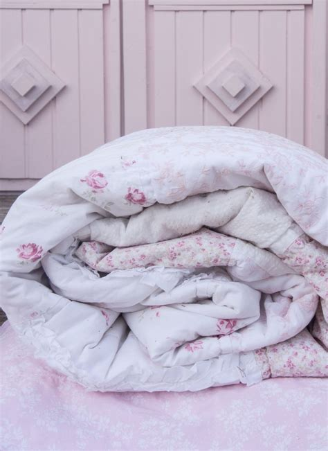 beautiful pink bedding ditsy patchwork quilt simply