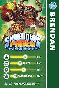 printable birthday cards skylanders 1000 images about skylanders on pinterest birthday