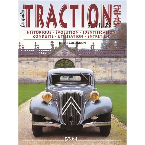 Housse De Chaisse 1934 by Livre Citroen Traction Vol 1 1934 1942 Le Guide Ref