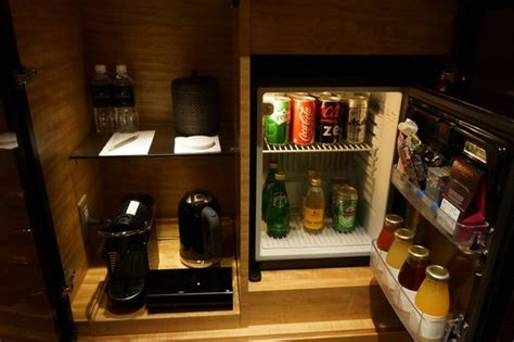 What Is A Bar In A Hotel Room Well Stocked In Room Minibar Picture Of Intercontinental