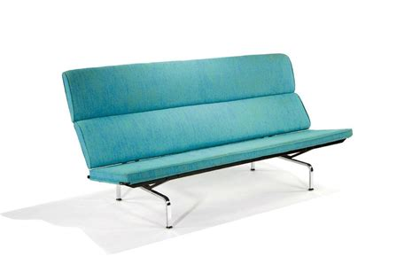 herman miller eames sofa eames 174 compact sofa by charles ray eames for herman miller