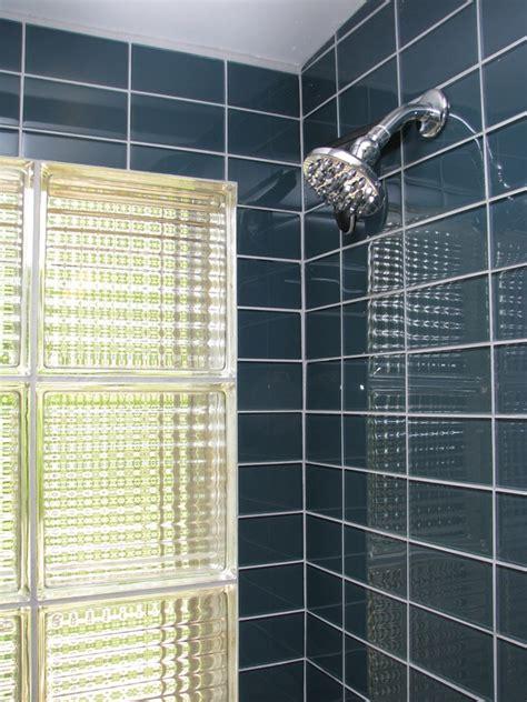Modern Bathroom Glass Tile 1000 Images About Mid Century Modern Bathroom Remodel On