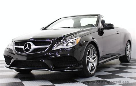 used mercedes convertible 2016 used mercedes e class e550 v8 convertible at