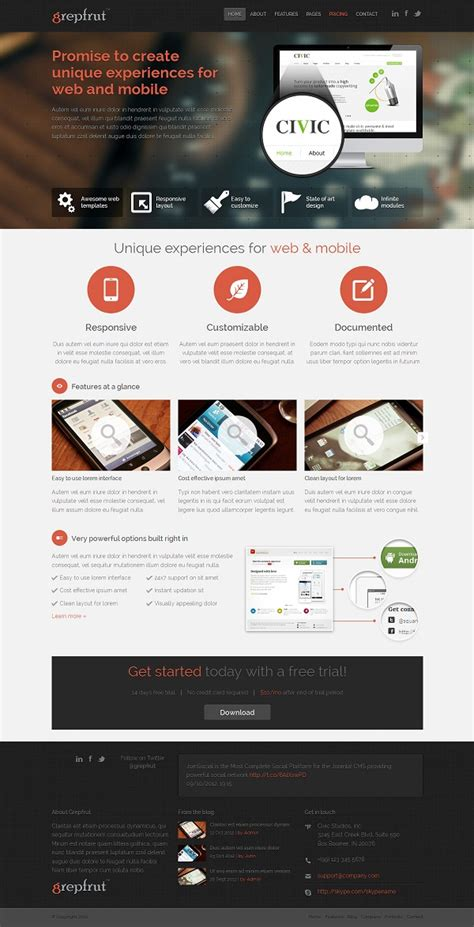 bootstrap themes free technology 6 bootstrap html software technology templates