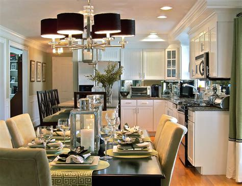 Kitchen Dining Room Ideas Photos by Small Cape Home Open Dining Room To Kitchen Home Decor
