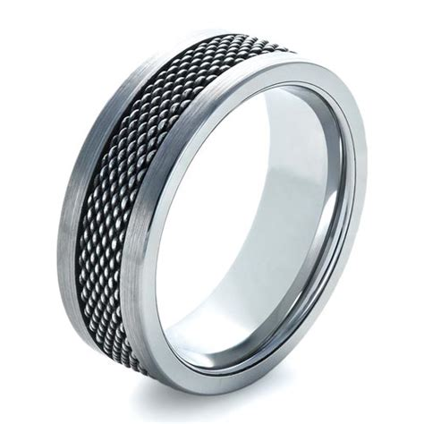 stainless steel jewelry s tungsten and stainless steel ring 1335