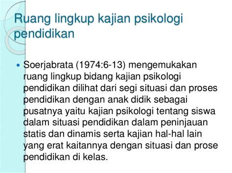 Psikologi Eksperimen Latipun psikologi pendidikan sosiologi pendidikan