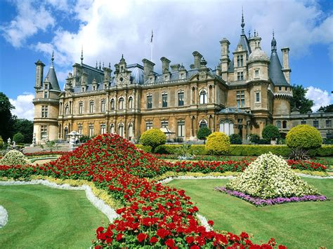 waddesdon manor waddesdon manor england wallpapers hd wallpapers