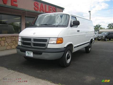 dodge commercial van 1999 dodge ram van 2500 maxi commercial in bright white