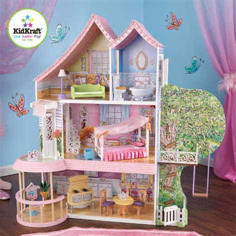 doll house for toddlers kids doll house kidkraft fancy nancy dollhouse traditional kids toys and games