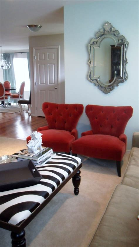 red accent chairs for living room red accent chair living room peenmedia com