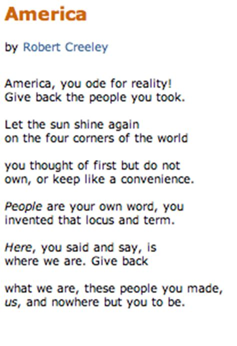 Theme Of American Poem E Freedom Icsjpoetryanthology