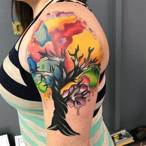 cypress tree tattoo designs tree tattoos designs and meanings flowertattooideas