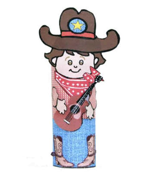 Dltk Toilet Paper Roll Crafts - crafts for cowboy