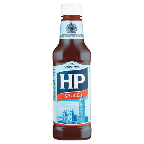 hp brown sauce 425g groceries tesco groceries