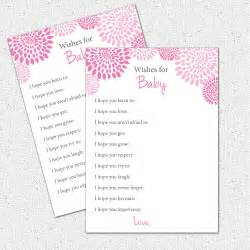 Wishes For Baby Printable Template by 6 Best Images Of Printable Wishes For Baby Template Free