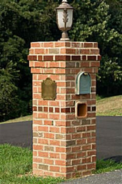 how to decorate a square brick mailbox for christmas the pro s corner how to build a masonry mailbox