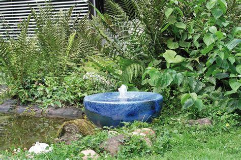 Gartenbrunnen Keramik