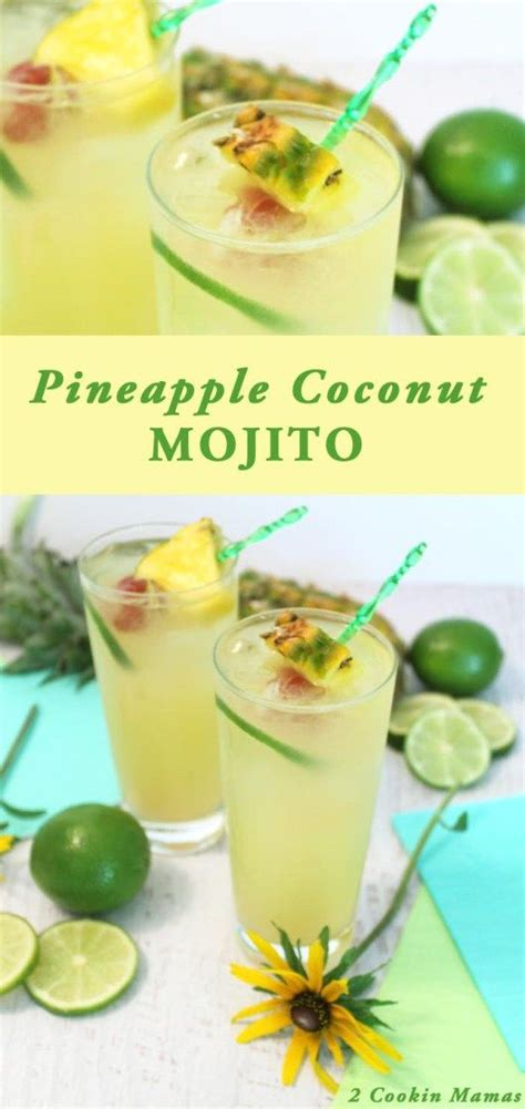 pineapple mojito recipe 6773 best alcoholic mixed drinks images on pinterest