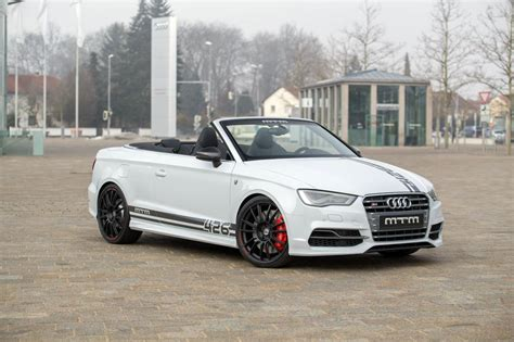 audi s3 tuned audi s3 cabriolet tuned by mtm