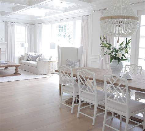 all white home interiors white coastal home painted in benjamin s simply