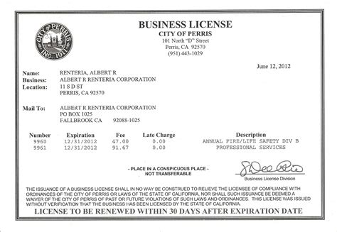 business license template california business license search template business to